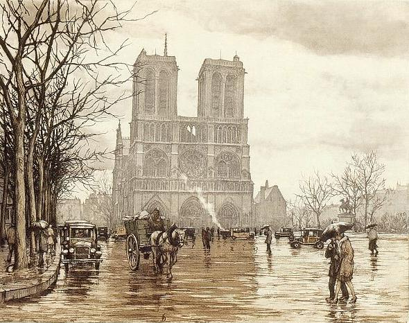 조원의 음악 산책: Il Pleut Sur La Route (이슬비 내리는 길) - Tino Rossi