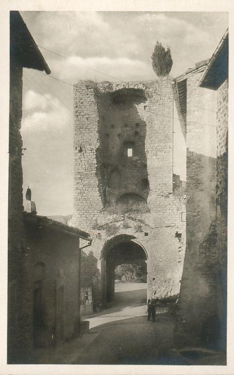 Postcards from the collection of tf simon - Porta san giacomo assisi ...