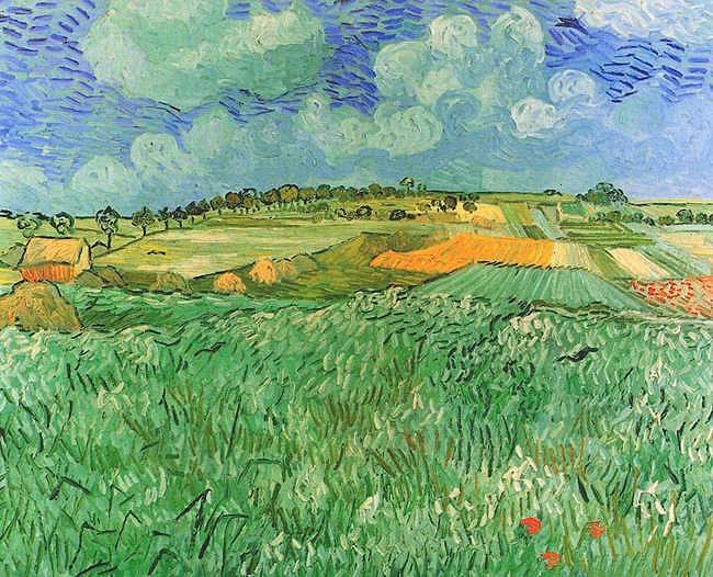 Vincent Van Gogh And Auvers Sur Oise