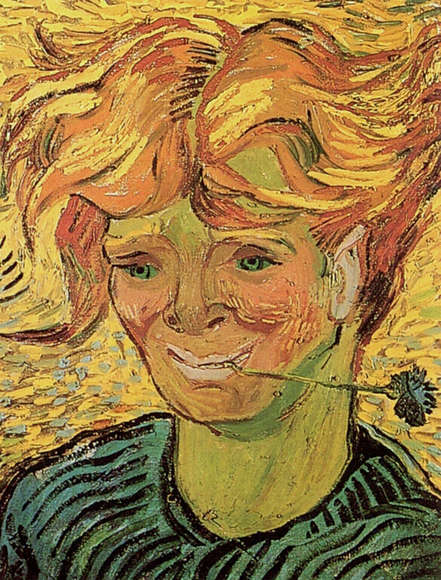 vincent van gogh young man with a cornflower Best photo of «Free mature cumshot galleries»